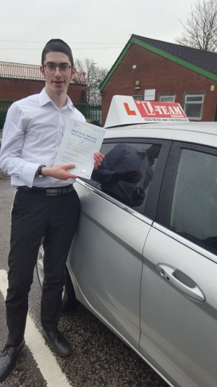 Congratulations to Kalman passing his driving test with L-Team driving school for the first time!! #passed#driving#learner� #manchester#drivinglessons #help #learning #cars Call us know to get booked in on 0333 240 6430<br /> <br /> PASS IN APRIL 2018