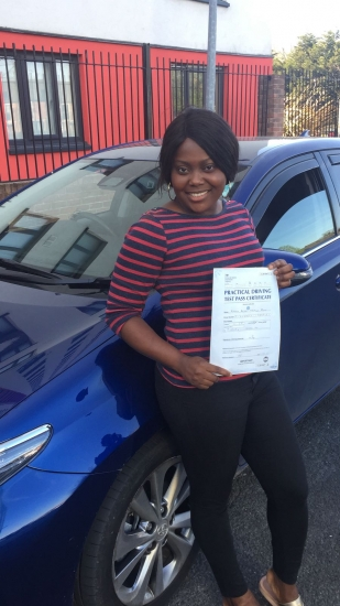 Congratulations to Bukola passing her driving test with L-Team driving school for the first time!! #passed#driving#learner� #manchester#drivinglessons #help #learning #cars Call us know to get booked in on 0333 240 6430<br /> <br /> PASS IN APRIL 2018