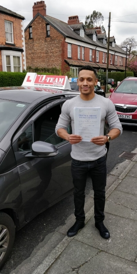 Congratulations to Adrian passing his driving test with L-Team driving school for the first time!! #passed#driving#learner� #manchester#drivinglessons #help #learning #cars Call us know to get booked in on 0333 240 6430<br />