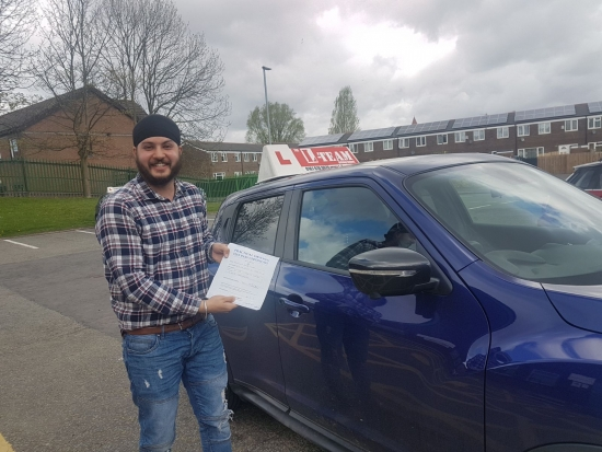 Congratulations to Jasmeet passing his driving test with L-Team driving school for the first time!! #passed#driving#learner� #manchester#drivinglessons #help #learning #cars Call us know to get booked in on 0333 240 6430<br />