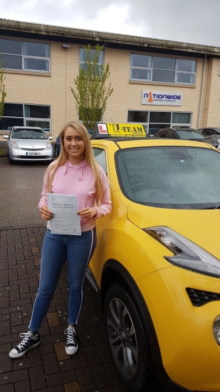 Congratulations to Dulcie passing her driving test with L-Team driving school for the first time!! #passed#driving#learner� #manchester#drivinglessons #help #learning #cars Call us know to get booked in on 0333 240 6430<br /> <br /> <br /> PASS IN APRIL 2018
