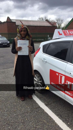 Congratulations to Rihaab passing her driving test with L-Team driving school for the first time!! #passed#driving#learner� #manchester#drivinglessons #help #learning #cars Call us know to get booked in on 0333 240 6430<br /> <br /> <br /> PASS IN APRIL 2018