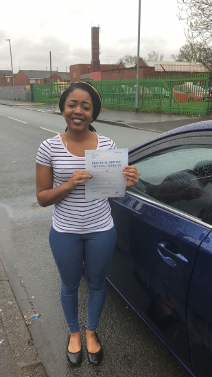 Congratulations to Tamara passing her driving test with L-Team driving school for the first time!! #passed#driving#learner� #manchester#drivinglessons #help #learning #cars Call us know to get booked in on 0333 240 6430<br /> <br /> <br /> PASS IN MAY 2018