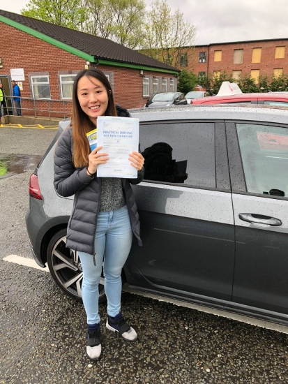 Congratulations to Ying passing her driving test with<br />  L-Team driving school for the first time!! #passed#driving#learner� #manchester#drivinglessons #help #learning #cars Call us know to get booked in on 0333 240 6430<br /> <br /> <br /> PASS IN MAY 2018