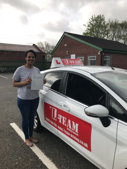Congratulations to Hagush passing her driving test with L-Team driving school for the first time!! #passed#driving#learner� #manchester#drivinglessons #help #learning #cars Call us know to get booked in on 0333 240 6430<br />