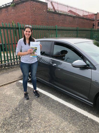 Congratulations to Yubitza passing her driving test with <br /> L-Team driving school for the first time!! #passed#driving#learner� #manchester#drivinglessons #help #learning #cars Call us know to get booked in on 0333 240 6430<br /> <br /> <br /> PASSED MAY 2018�