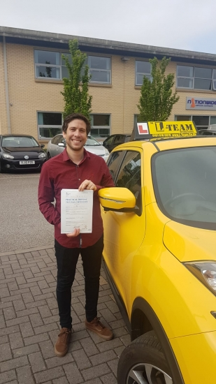 Congratulations to Manuel passing his driving test with L-Team driving school for the first time!! #passed#driving#learner� #manchester#drivinglessons #help #learning #cars Call us now to get booked in on 0333 240 6430<br />