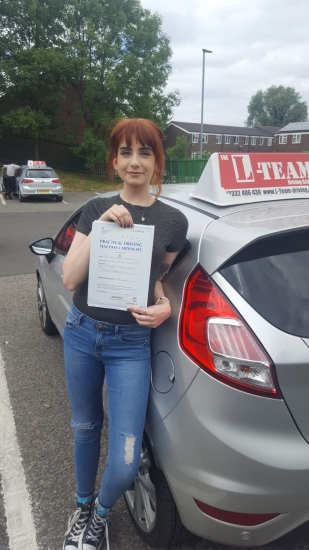 Congratulations to Leoni passing her driving test with L-Team driving school for the first time!! #passed#driving#learner� #manchester#drivinglessons #help #learning #cars Call us now to get booked in on 0333 240 6430<br /> <br /> PASSED JUNE 2018�