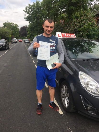 Congratulations to Ion passing his driving test with L-Team driving school for the first time!! #passed#driving#learner� #manchester#drivinglessons #help #learning #cars Call us now to get booked in on 0333 240 6430<br />
