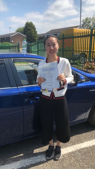 Congratulations to Wen Wang  passing her driving test with L-Team driving school for the first time!! #passed#driving#learner� #manchester#drivinglessons #help #learning #cars Call us now to get booked in on 0333 240 6430<br />