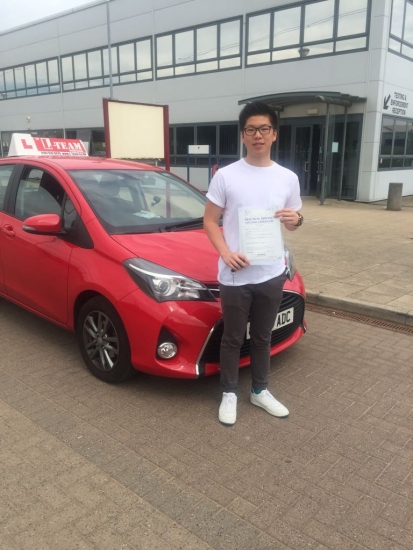 Congratulations to Francisco passing his driving test with L-Team driving school for the first time!! #passed#driving#learner� #manchester#drivinglessons #help #learning #cars Call us now to get booked in on 0333 240 6430<br />