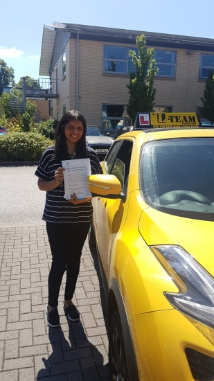 Congratulations to Sophie passing her driving test with L-Team driving school for the first time!! #passed#driving#learner� #manchester#drivinglessons #help #learning #cars Call us now to get booked in on 0333 240 6430<br />
