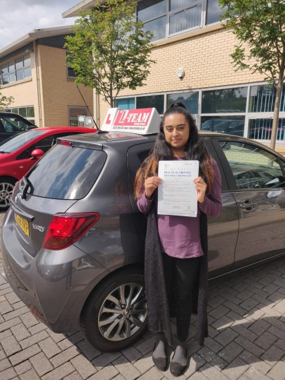 Congratulations to alina passing her driving test with L-Team driving school for the first time!! #passed#driving#learner� #manchester#drivinglessons #help #learning #cars Call us now to get booked in on 0333 240 6430<br /> <br /> PASSED JULY 2018 �