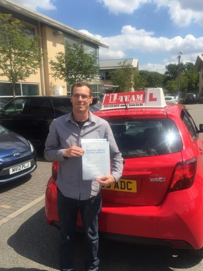 Congratulations to Rick passing his driving test with L-Team driving school for the first time!! #passed#driving#learner� #manchester#drivinglessons #help #learning #cars Call us now to get booked in on 0333 240 6430<br /> <br /> PASSED JULY 2018 �