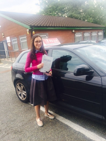 Congratulations to Esta passing her driving test with L-Team driving school for the first time!! #passed#driving#learner� #manchester#drivinglessons #help #learning #cars Call us now to get booked in on 0333 240 6430<br />