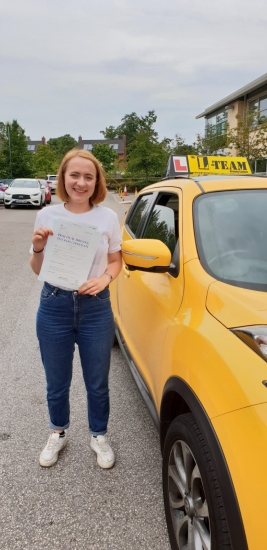 Congratulations to caitlin passing her driving test with L-Team driving school for the first time!! #passed#driving#learner� #manchester#drivinglessons #help #learning #cars Call us now to get booked in on 0333 240 6430<br /> <br /> PASSED JULY 2018 �