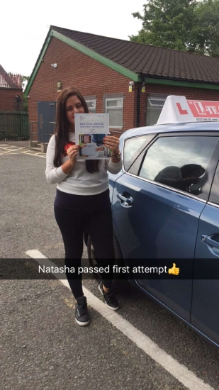 Congratulations to Natasha passing her driving test with L-Team driving school for the first time!! #passed#driving#learner� #manchester#drivinglessons #help #learning #cars Call us now to get booked in on 0333 240 6430<br />