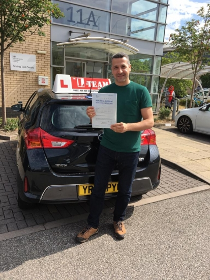 Congratulations to Saad passing his driving test with L-Team driving school for the first time!! #passed#driving#learner� #manchester#drivinglessons #help #learning #cars Call us now to get booked in on 0333 240 6430<br />