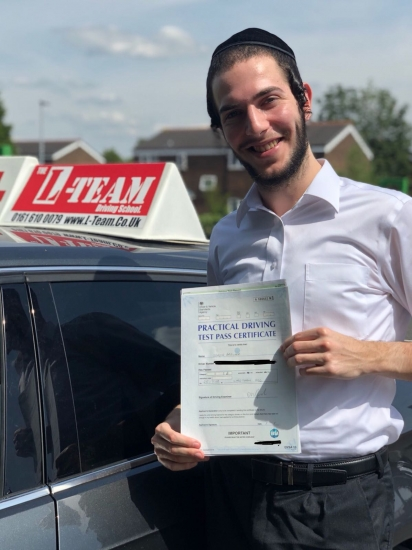 Congratulations to Simon passing his driving test with L-Team driving school for the first time!! #passed#driving#learner� #manchester#drivinglessons #help #learning #cars Call us now to get booked in on 0333 240 6430<br />