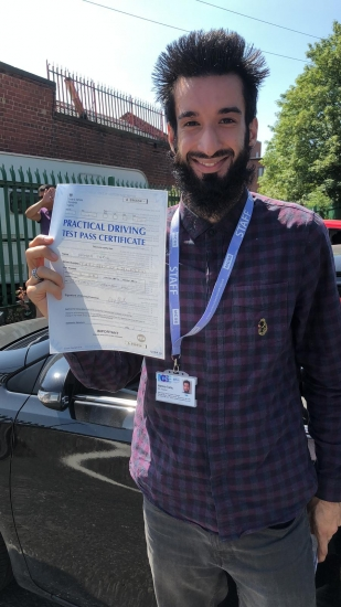 Congratulations to Hamza passing his driving test with L-Team driving school for the first time!! #passed#driving#learner� #manchester#drivinglessons #help #learning #cars Call us now to get booked in on 0333 240 6430<br />