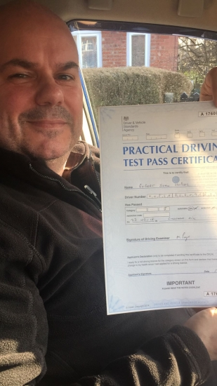 Congratulations to Robert passing his driving test with <br /> <br /> L-Team driving school for the first time!! #passed#driving#learner #manchester#drivinglessons #help #learning #cars Call us know to get booked in on 0161 610 0079<br /> <br /> <br /> <br /> PASS IN FEBRUARY 2018