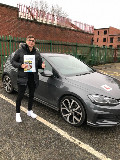 Congratulations to Iker passing his driving test with L-Team driving school for the first time!! #passed#driving#learner #manchester#drivinglessons #help #learning #cars Call us know to get booked in on 0161 610 0079<br />