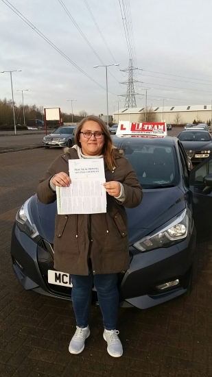 Congratulations to Jade passing her driving test with     L-Team driving school for the first time!! #passed#driving#learner #manchester#drivinglessons #help #learning #cars  Call us know to get booked in on 0161 610 0079<br />