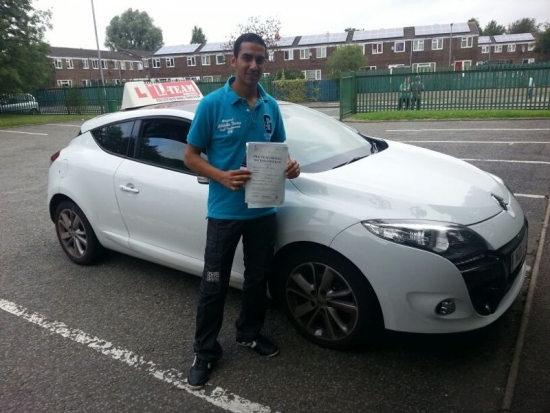 thank you shahid for getting me pass my driving test top instructor<br /> <br /> 2092013