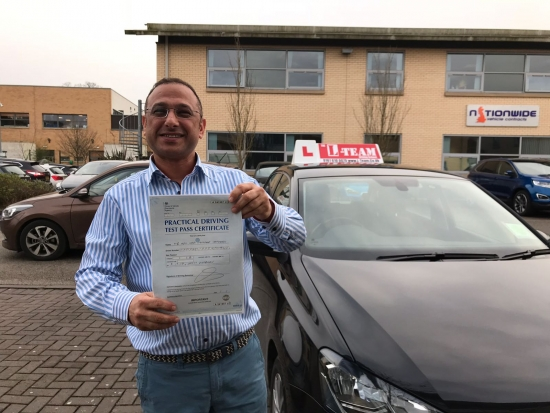 Congratulations to Adeel passing his driving test with <br /> <br /> L-Team driving school for the first time!! #passed#driving#learner #manchester#drivinglessons #help #learning #cars Call us know to get booked in on 0161 610 0079<br /> <br /> <br /> <br /> PASS IN MARCH 2018