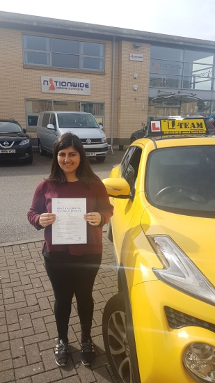 Congratulations to Heleema passing her driving test with L-Team driving school for the first time!! #passed#driving#learner #manchester#drivinglessons #help #learning #cars Call us know to get booked in on 0161 610 0079<br /> <br /> <br /> <br /> PASS IN MARCH 2018