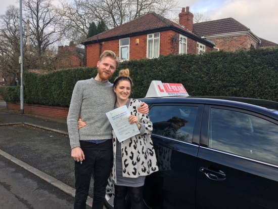Congratulations to Jennifer passing her driving test with L-Team driving school for the first time!! #passed#driving#learner #manchester#drivinglessons #help #learning #cars Call us know to get booked in on 0161 610 0079<br /> <br /> <br /> <br /> PASS IN MARCH 2018
