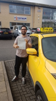 Congratulations to Yousaf passing his driving test with L-Team driving school for the first time!! #passed#driving#learner🏆 #manchester#drivinglessons #help #learning #cars Call us know to get booked in on 0333 240<br /> <br /> <br /> PASS IN APRIL 2018