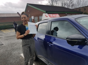 Congratulations to Bianca passing her driving test with L-Team driving school for the first time!! #passed#driving#learner🏆 #manchester#drivinglessons #help #learning #cars Call us know to get booked in on 0333 240<br /> <br /> <br /> PASS IN APRIL 2018