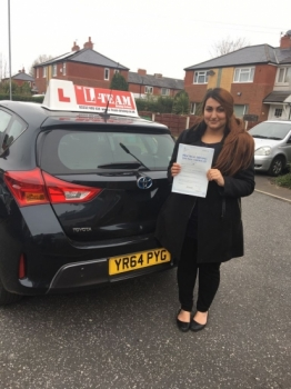 Congratulations to Mushira passing her driving test with L-Team driving school for the first time!! #passed#driving#learner🏆 #manchester#drivinglessons #help #learning #cars Call us know to get booked in on 0333 240 6430<br /> <br /> PASS IN APRIL 2018