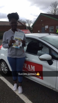 Congratulations to Succes passing her driving test with L-Team driving school for the first time!! #passed#driving#learner🏆 #manchester#drivinglessons #help #learning #cars Call us know to get booked in on 0333 240 6430<br /> <br /> PASS IN APRIL 2018