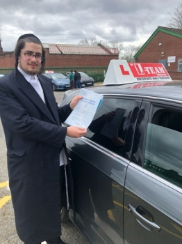 Congratulations to Yoel passing his driving test with <br /> L-Team driving school for the first time!! #passed#driving#learner🏆 #manchester#drivinglessons #help #learning #cars Call us know to get booked in on 0333 240 6430<br /> <br /> PASS IN APRIL 2018