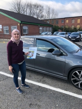 Congratulations to Sana passing her driving test with<br />  L-Team driving school for the first time!! #passed#driving#learner🏆 #manchester#drivinglessons #help #learning #cars Call us know to get booked in on 0333 240 6430<br /> <br /> PASS IN APRIL 2018
