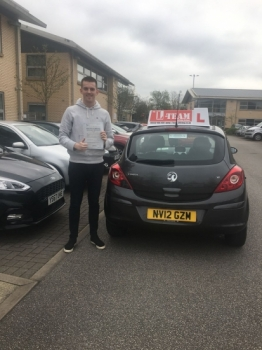 Congratulations to Scott passing his driving test with<br />  L-Team driving school for the first time!! #passed#driving#learner🏆 #manchester#drivinglessons #help #learning #cars Call us know to get booked in on 0333 240 6430<br /> <br /> PASS IN APRIL 2018
