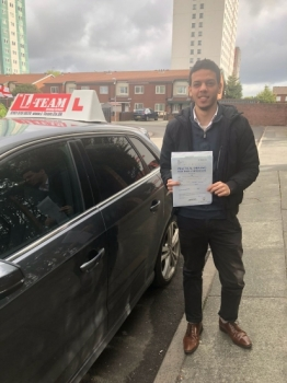 Congratulations to Kareem passing his driving test with L-Team driving school for the first time!! #passed#driving#learner🏆 #manchester#drivinglessons #help #learning #cars Call us know to get booked in on 0333 240 6430<br /> <br /> <br /> PASS IN APRIL 2018