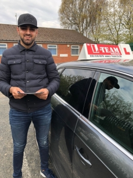 Congratulations to Suliman passing his driving test with L-Team driving school for the first time!! #passed#driving#learner🏆 #manchester#drivinglessons #help #learning #cars Call us know to get booked in on 0333 240 6430<br /> <br /> <br /> PASS IN MAY 2018
