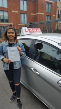 Congratulations to Miriam passing her  driving test with L-Team driving school for the first time!! #passed#driving#learner🏆 #manchester#drivinglessons #help #learning #cars Call us know to get booked in on 0333 240 6430<br /> <br /> <br /> PASS IN MAY 2018
