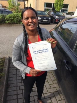 Congratulations to Yordanos passing her driving test with <br /> L-Team driving school for the first time!! #passed#driving#learner🏆 #manchester#drivinglessons #help #learning #cars Call us know to get booked in on 0333 240 6430<br /> <br /> <br /> PASSED MAY 2018🏆