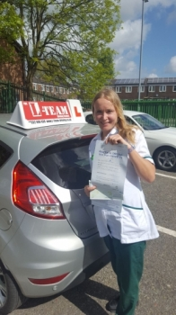 Congratulations to Alex passing her driving test with <br /> L-Team driving school for the first time!! #passed#driving#learner🏆 #manchester#drivinglessons #help #learning #cars Call us know to get booked in on 0333 240 6430<br /> <br /> <br /> PASSED MAY 2018🏆