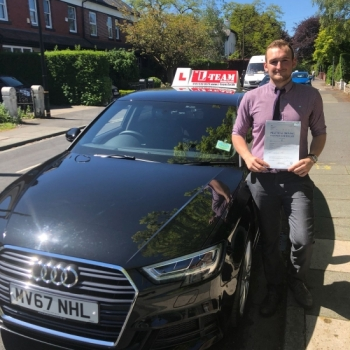 Congratulations to Jason passing his driving test with <br /> L-Team driving school for the first time!! #passed#driving#learner🏆 #manchester#drivinglessons #help #learning #cars Call us know to get booked in on 0333 240 6430<br /> <br /> <br /> PASSED MAY 2018🏆