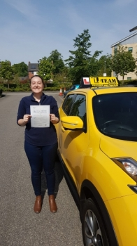 Congratulations to Rachel passing her driving test with <br /> L-Team driving school for the first time!! #passed#driving#learner🏆 #manchester#drivinglessons #help #learning #cars Call us know to get booked in on 0333 240 6430<br /> <br /> <br /> PASSED MAY 2018🏆