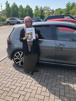 Congratulations to Maryam passing her driving test with <br /> L-Team driving school for the first time!! #passed#driving#learner🏆 #manchester#drivinglessons #help #learning #cars Call us know to get booked in on 0333 240 6430<br /> <br /> <br /> PASSED MAY 2018🏆
