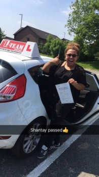 Congratulations to Shantay passing her driving test with <br /> L-Team driving school for the first time!! #passed#driving#learner🏆 #manchester#drivinglessons #help #learning #cars Call us know to get booked in on 0333 240 6430<br /> <br /> <br /> PASSED MAY 2018🏆