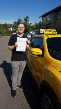 Congratulations to Thomas passing his driving test with <br /> L-Team driving school for the first time!! #passed#driving#learner🏆 #manchester#drivinglessons #help #learning #cars Call us know to get booked in on 0333 240 6430<br /> <br /> <br /> PASSED MAY 2018🏆