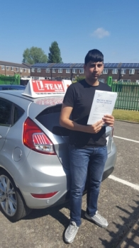 Congratulations to Zeeshan passing his driving test with <br /> L-Team driving school for the first time!! #passed#driving#learner🏆 #manchester#drivinglessons #help #learning #cars Call us know to get booked in on 0333 240 6430<br /> <br /> <br /> PASSED MAY 2018🏆