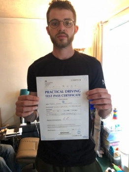 Congratulations to Robert passing his driving test with <br /> L-Team driving school for the first time!! #passed#driving#learner🏆 #manchester#drivinglessons #help #learning #cars Call us know to get booked in on 0333 240 6430<br /> <br /> <br /> PASSED MAY 2018🏆